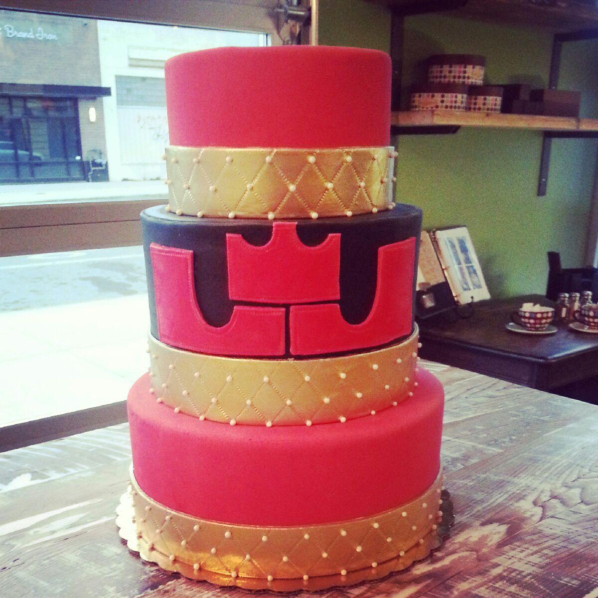 The Cake Sugarmill Made For Lebron James' Birthday On Monday (sugarmill  Photo)