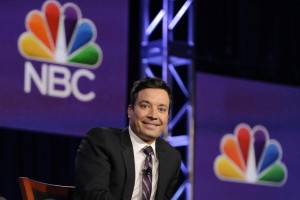 New 'Tonight Show' host Jimmy Fallon took a shot at Colorado Gov. John Hickenlooper. (NBC photo)
