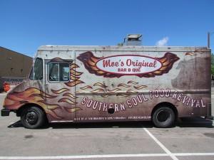 Moes BBQ truck